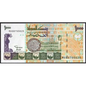Судан 1000 динаров 1996 - UNC