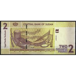 Судан 2 фунта 2011 - UNC