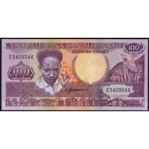 Суринам 100 гульденов 1986 - UNC