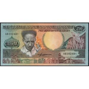 Суринам 250 гульденов 1988 - UNC