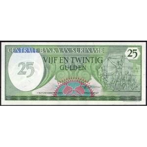 Суринам 25 гульденов 1985 - UNC