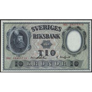 Швеция 10 крон 1951 - UNC