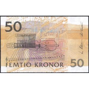 Швеция 50 крон 2002 - UNC
