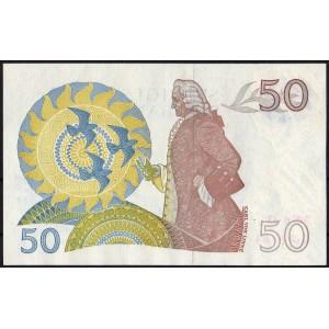 Швеция 50 крон 1976 - AUNC