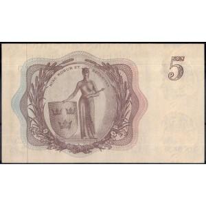 Швеция 5 крон 1963 - UNC