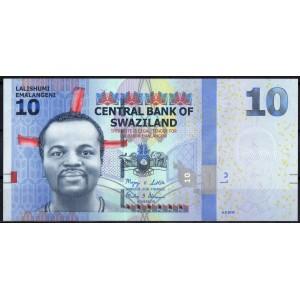 Свазиленд 10 эмалангени 2010 - UNC