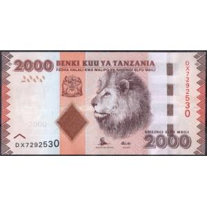 Танзания 2000 шиллингов 2010 - UNC