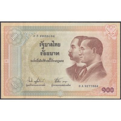 Таиланд 100 бат 2002 - UNC