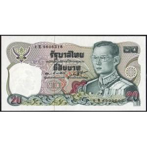 Таиланд 20 бат 1981 - UNC