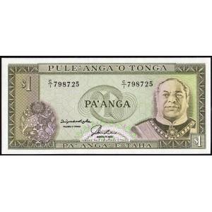 Тонга 1 паанга 1992 - UNC