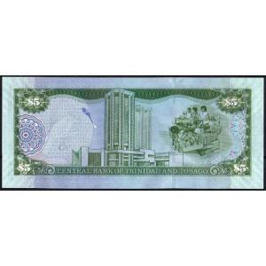 Тринидад и Тобаго 5 долларов 2006 - UNC