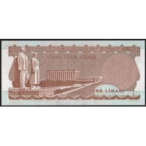 Турция 20 лир 1974 - UNC