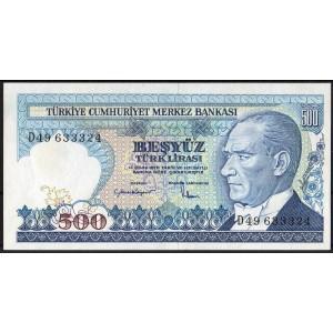 Турция 500 лир 1984 - UNC