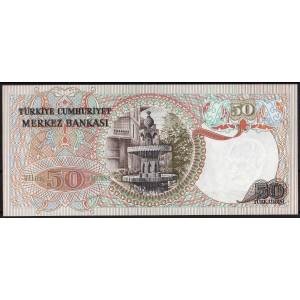 Турция 50 лир 1976 - UNC