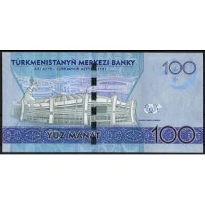 Туркмения 100 манатов 2017 - UNC