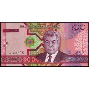 Туркмения 100 манатов 2005 - UNC