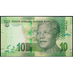 ЮАР 10 рендов 2016 - UNC