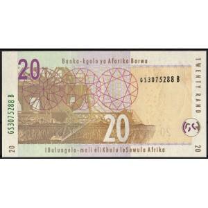 ЮАР 20 рендов 2005 - UNC