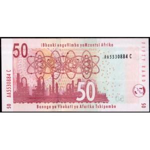 ЮАР 50 рендов 2005 (Marcus) - UNC