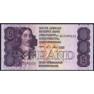 ЮАР 5 рендов 1990 - UNC