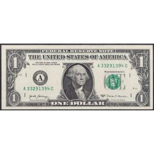 США 1 доллар 2017 - UNC