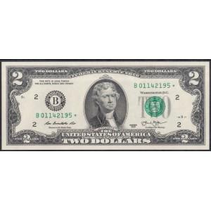 США 2 доллара 2013 * - UNC
