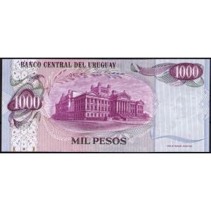 Уругвай 1000 песо 1974 - UNC