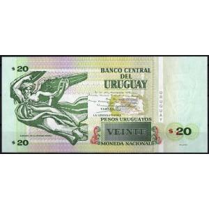 Уругвай 20 песо 2011 - UNC