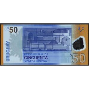 Уругвай 50 песо 2017 - UNC