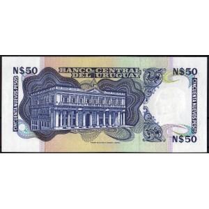Уругвай 50 песо 1987 - UNC