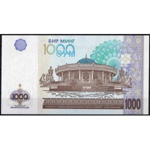 Узбекистан 1000 сумов 2001 - UNC