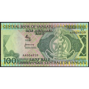 Вануату 100 вату 1982 - UNC
