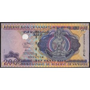 Вануату 200 вату 1995 - UNC