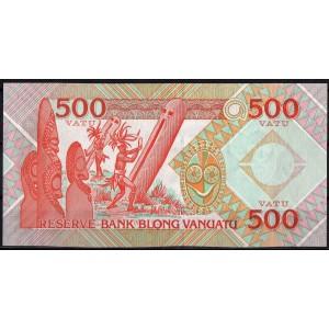 Вануату 500 вату 1993 - UNC