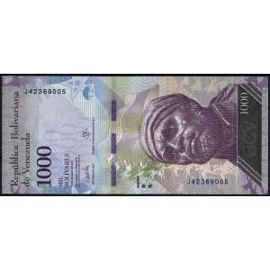 Венесуэла 1000 боливаров 2017 - UNC