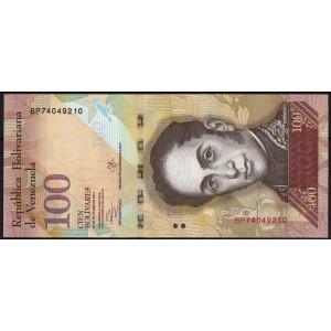 Венесуэла 100 боливаров 2013 - UNC