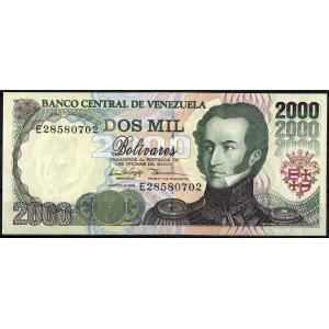 Венесуэла 2000 боливаров 1998 - UNC