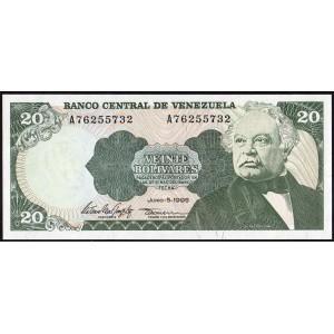 Венесуэла 20 боливаров 1995 - UNC