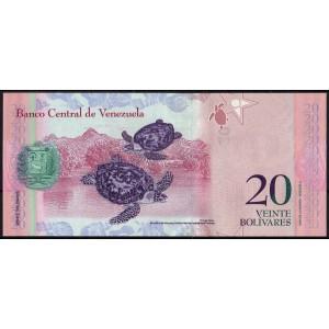 Венесуэла 20 боливаров 2011 - UNC