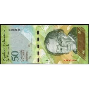 Венесуэла 50 боливаров 2011 - UNC
