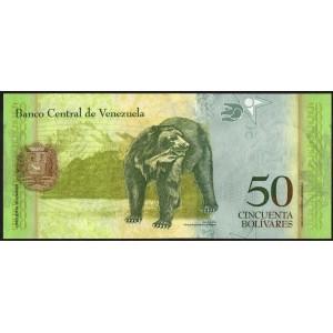 Венесуэла 50 боливаров 2015 - UNC