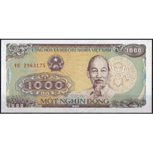 Вьетнам 1000 донгов 1988 - UNC