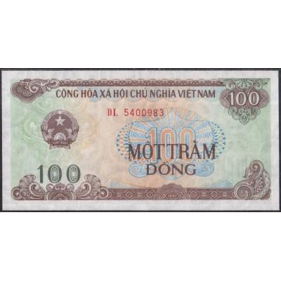 Вьетнам 100 донгов 1991 - UNC