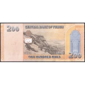 Йемен 200 риалов 2018 - UNC