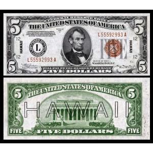 Зачем на некоторых долларах написано «HAWAII» («Гавайи»)?