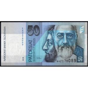 Словакия 50 крон 2005 - UNC